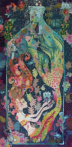 Sirene (Mermaid) Collage Pattern by Laura Heine