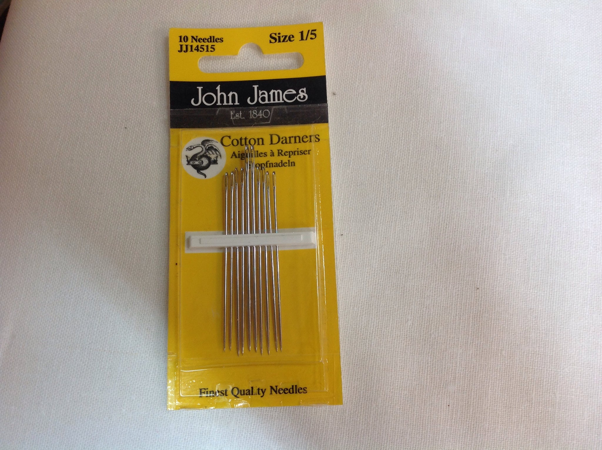 John James - (Size 1/5) Cotton Darners