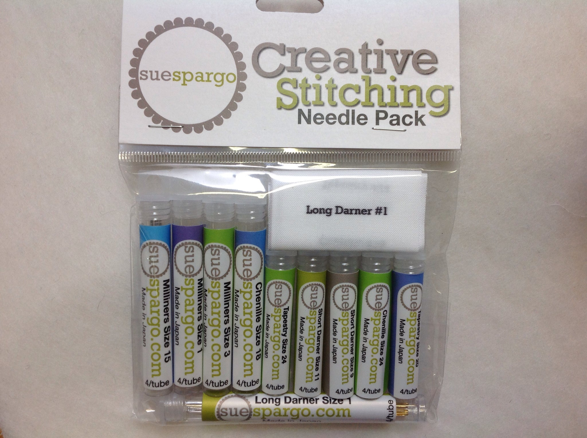 Sue Spargo Needle Pack - Creative Stitching