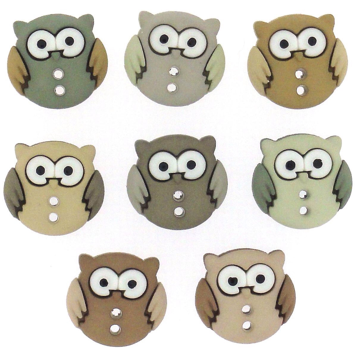Sew Cute Owls - Dress It Up Buttons