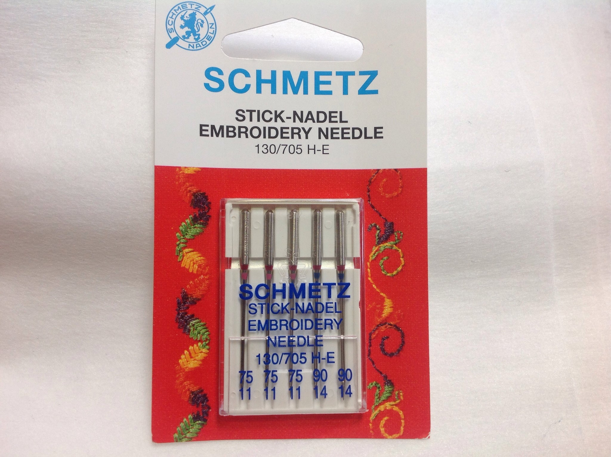 Embroidery Machine Needles - Schmetz
