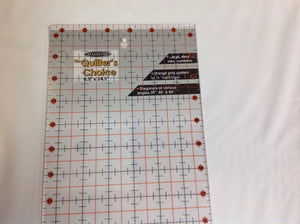 Quilters choice ruler 6.5 x 24.5