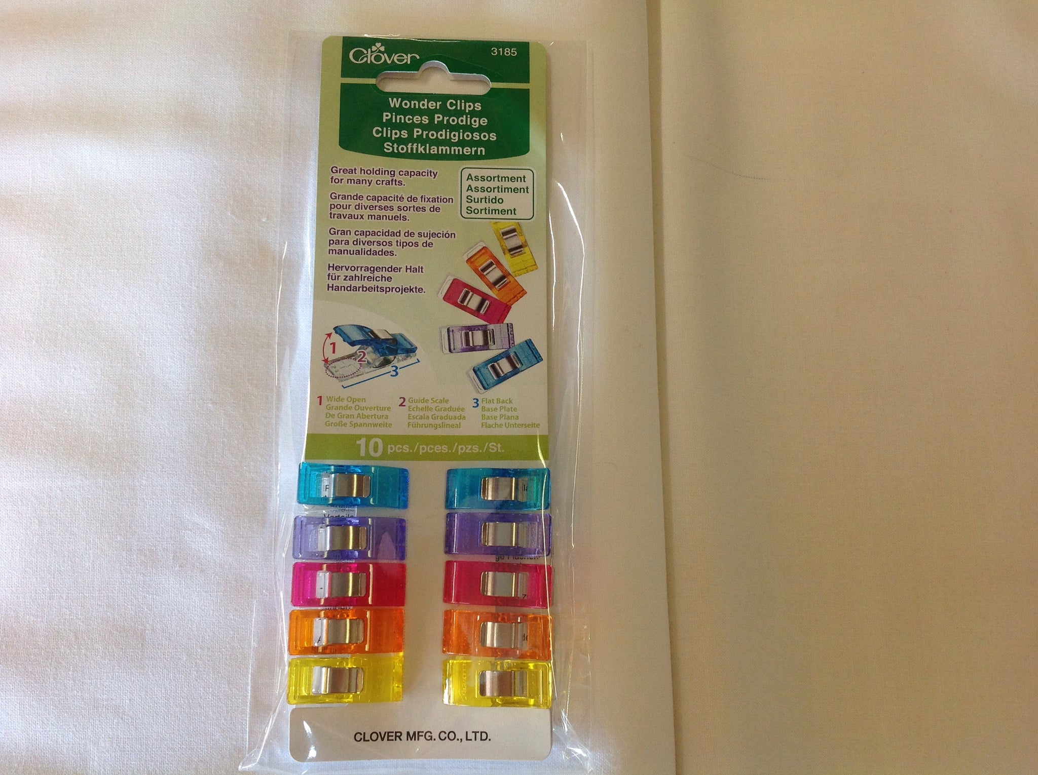 Clover - Wonder Clips, colours