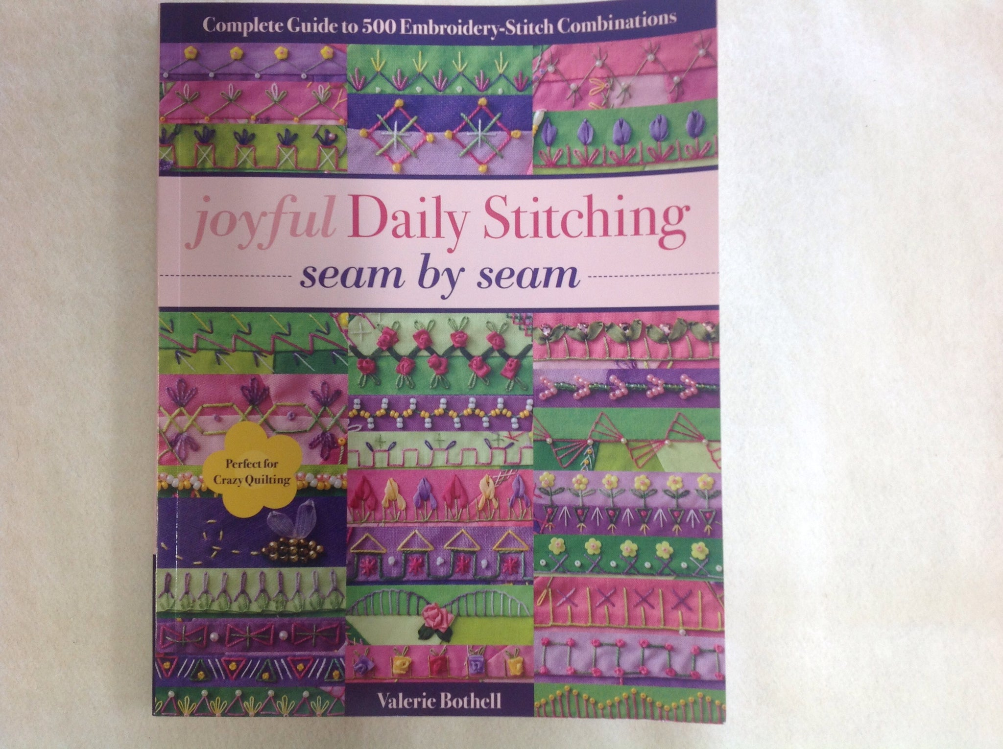 Joyful Daily Stitching by Valerie Bothell