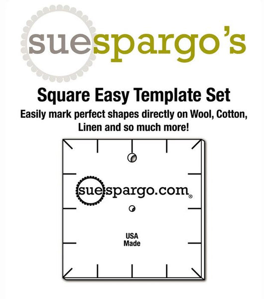 Squares Easy Templates - Sue Spargo