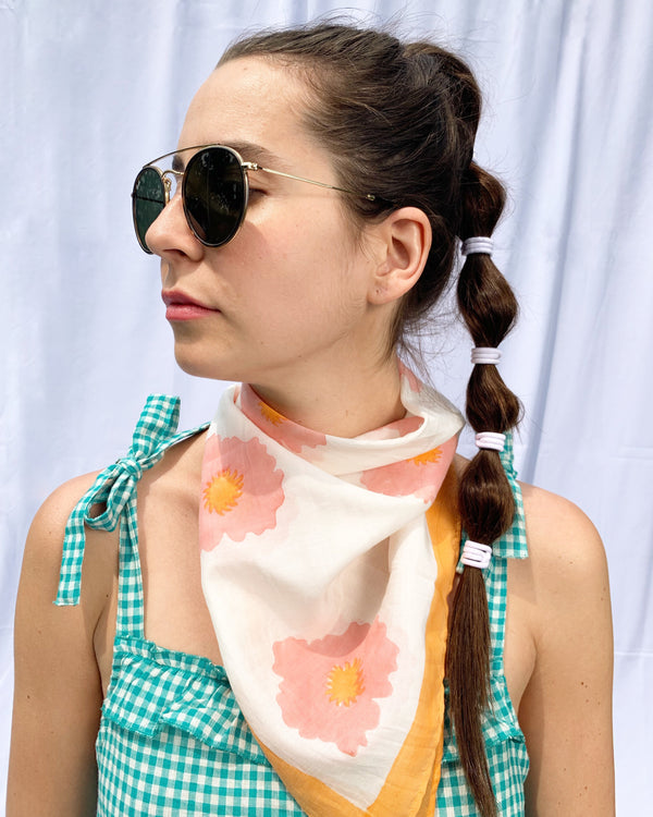 LOLITA SCARF- SHELL PINK