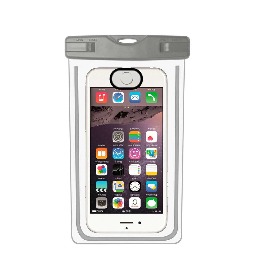 purchase cheap a2627 c6ce4 Universal Underwater Sealed Waterproof Phone Case With Finger Unlock For  Iphone 6, 6S, 7, 8 X Plus