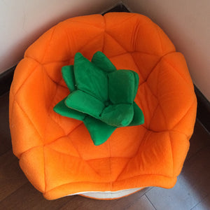 """Pup-apple"" Pineapple Dog Bed / Indoor Dog House"