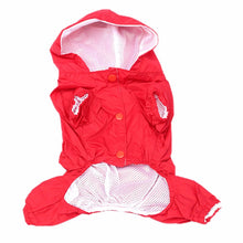 """Fly & Dry"" Waterproof Dog Rain Jacket"