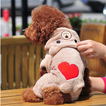Tender Heart Dog Fleece