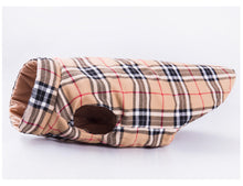 """Fall Fashion Fido"" Double-Sided Dog Jacket"