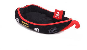 Pirate Boat Dog Bed