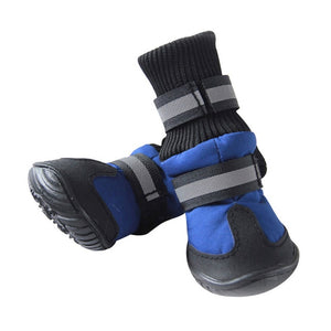 """Snowbound Hound"" Winter Dog Boots"