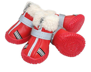 """Snowfall Adventure"" Dog Winter Snow Boots"