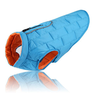 Freeze-Proof Fido Reversible Waterproof Dog Jacket