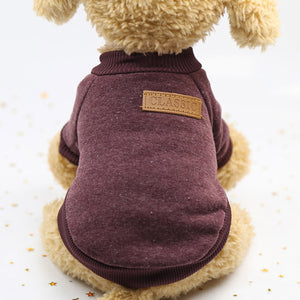 """Cuddly Pup"" Canine Sweater"