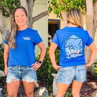NEW!!! Adult Unisex Lake Dolphin T-Shirt