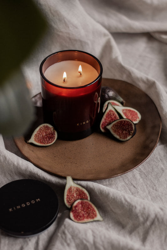 Kingdom Candle - LIMITED EDITION Fig & Bergamot Luxury Soy Candle