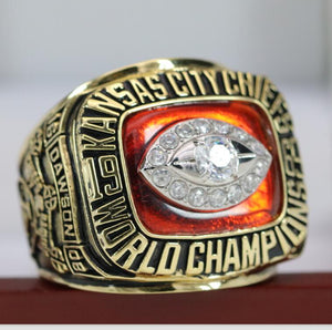 Kansas City Chiefs Super Bowl Ring (1969) - Premium Series