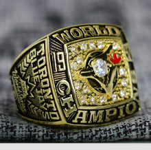 Load image into Gallery viewer, Toronto Blue Jays World Series Ring (1992) - Premium Series