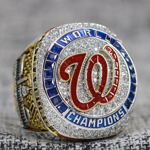 Washington Nationals World Series Ring (2019) - Premium Series