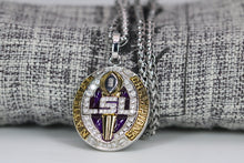 Load image into Gallery viewer, Louisiana State University (LSU) College Football National Championship Pendant (2019) - Premium Series