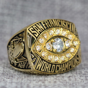 San Francisco 49ers Super Bowl Ring (1981) - Premium Series