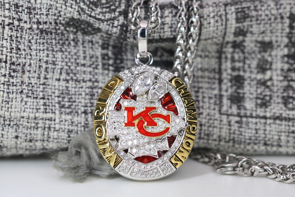 Kansas City Chiefs Super Bowl Pendant (2019) - Premium Series
