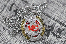 Load image into Gallery viewer, Kansas City Chiefs Super Bowl Pendant (2019) - Premium Series