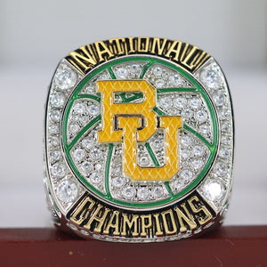 Baylor Bears College Basketball National Championship Ring (2019) - Premium Series