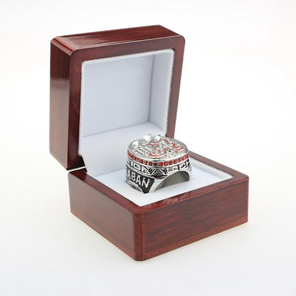 Alabama Crimson Tide College Football National Championship Ring (2012) - Nick Saban