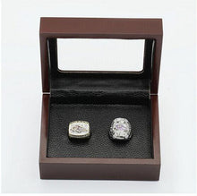 Load image into Gallery viewer, Baltimore Ravens Super Bowl Ring Set (2000, 2012)