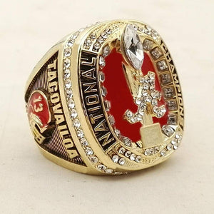 BRAND NEW Alabama Crimson Tide College Football National Championship Ring (2018)