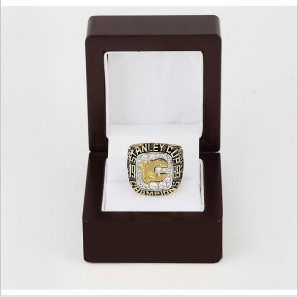 Calgary Flames Stanley Cup Ring (1989)