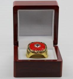 Clemson Tigers College Football National Championship Ring (1981)