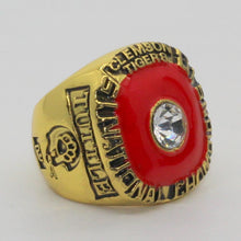 Load image into Gallery viewer, Clemson Tigers College Football National Championship Ring (1981)