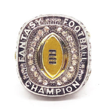 Load image into Gallery viewer, Fantasy Football League Championship Ring (2018) - Version 1