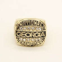 Load image into Gallery viewer, Georgia Bulldogs College Football National Championship Ring (1980)