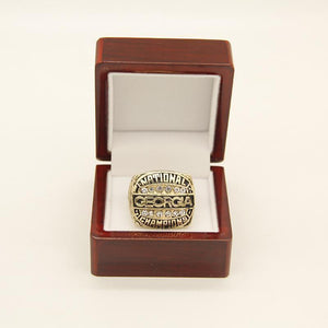 Georgia Bulldogs College Football National Championship Ring (1980)