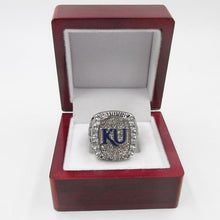 Load image into Gallery viewer, Kansas Jayhawks College Basketball Championship Ring (2008)