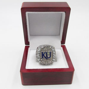 Kansas Jayhawks College Basketball Championship Ring (2008)