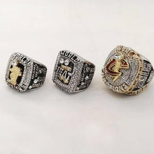 Load image into Gallery viewer, LeBron James - Cleveland Cavaliers/Miami Heat NBA Basketball Championship Ring Set (2012, 2013, 2016)