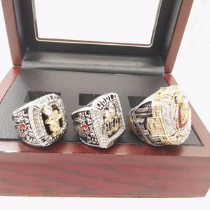 LeBron James - Cleveland Cavaliers/Miami Heat NBA Basketball Championship Ring Set (2012, 2013, 2016)