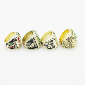 Miami (Fla.) Hurricanes College Football National Championship Ring Set (1983, 1989, 1991, 2001)