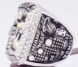 Miami Heat NBA Championship Ring (2013) - Lebron James
