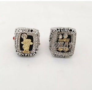Miami Heat NBA Championship Ring Set (2012, 2013) - LeBron James