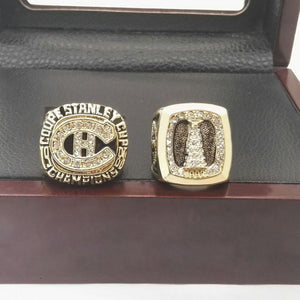 Montreal Canadiens Stanley Cup Ring Set (1986, 1993)