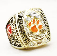 Load image into Gallery viewer, NEW Clemson Tigers College National Championship Ring (2018) Fan Ring