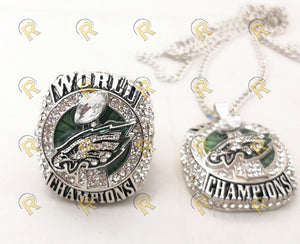 NEW Philadelphia Eagles Super Bowl Pendant and Chain (2018)