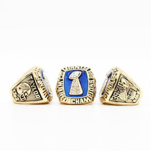 Load image into Gallery viewer, New York Giants Super Bowl Ring Set (1986, 1990, 2007, 2011)